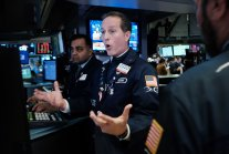 Dow down 1,800 Stocks reopen after halting,