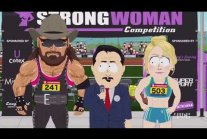 Transgender Athletic Strong Woman