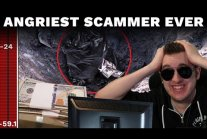 Angriest scammer ever
