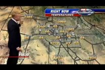 Weather map goes crazy live on the air