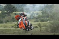 Accident at Rally Sliven 2021