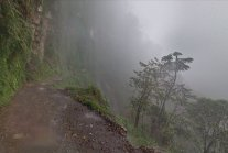 Death Road, a lethal journey in the Bolivian Yungas region