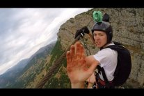 riday Freakout: Super Sketchy Zipline BASE Jump, Almost Loses Fingers!
