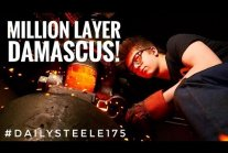 ONE MILLION LAYER DAMASCUS STEEL