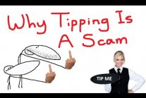Why tipping is a scam