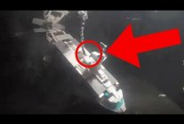 Water Bombing a Lego Submarine