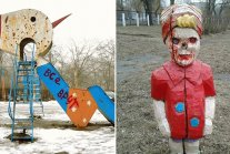 Extremely Creepy Russian Playgrounds gallery