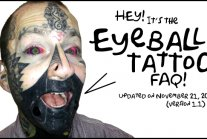 ** How much does an eye tattoo cost?