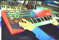 Fragment na Clavia Nord Lead 2x