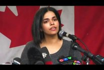 Rahaf Mohammed speaks publicly: 'I'm one of the lucky ones'