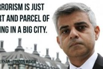 Terrorism is just part and parcel of living in a big city!