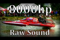 "8000hp Dragboats in San Angelo,Texas ""Raw Sound"""
