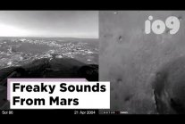 The first sounds of Mars are kind of freaky