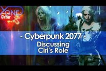 Discussing Ciri's Role in Cyberpunk 2077 [ENG]