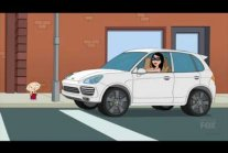 Family Guy - Women In Porsche Cayenne S15E14