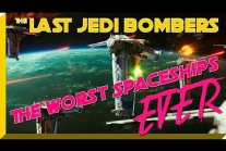 The Last Jedi Bombers. The Worst Spaceships EVER!