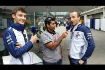 Karun Chandhok is joined by Robert Kubica & George Russell for #WilliamsTV