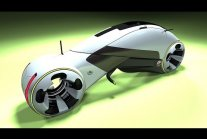 UNO CYCLE - Future Electric Motorcycle Concept