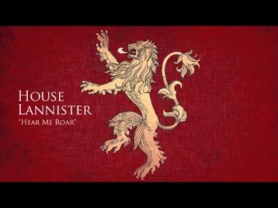 ALIEXPRESS HOUSE LANNISTER GAME OF THRONES HEAR ME ROAR