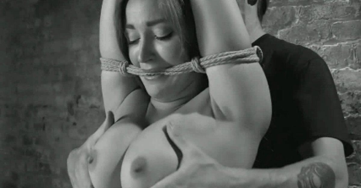Fetish filled flagellations as foreplay for hippy and submissive