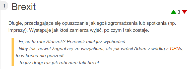co to jest Brexit