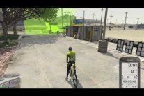 Grand Theft Bike V - Bicycle training in GTA V