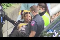 """Chaz """"leader"""" chased by police, injures himself, cries like a little boy"""