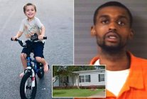 Five-year-old boy is shot dead by neighbor in front of his two sisters