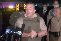 L.A. protesters try to break into hospital where two officers are in...
