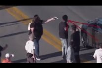 BLM blocking traffic, protester pulls gun on driver.
