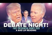 """DEBATE NIGHT 2020!"" — A Bad Lip Reading of the First Presidential Debate..."