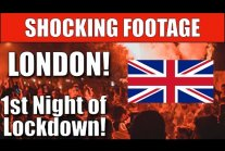 London Lockdown Protests