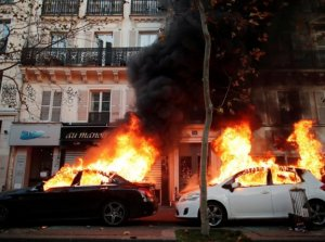 Paris on fire: riots in the French capital
