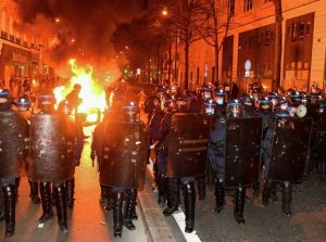 Massive protests against restrictions on press freedom took place across...