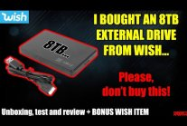 Test 8TB dysku SSD z wish.com