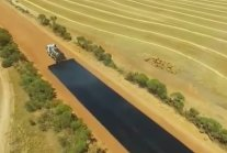 Australian Workers Deftly Build 4.9 KM Road in Two Days