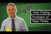 Andy Chipling - Best Paper Airplanes in the World