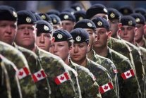 Troops will be training in America. Canadian military is coming to Louisiana.