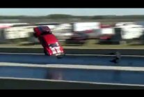 Camaro Sticks Landing After Going Airborne