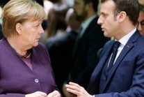 What is Macron up to? Merkel suspects 'crafty' French plot to snatch UK's...