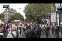 Parisians gather for new round of protests against health passes