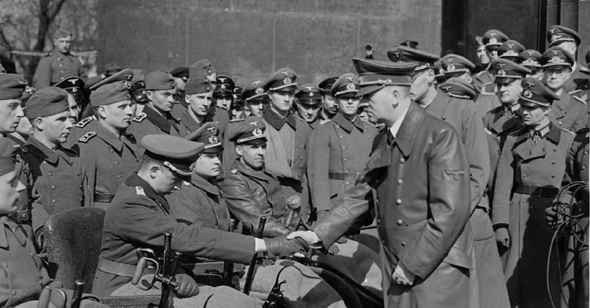 an analysis of adolf hitlers actions which caused the second world war There is a common agreement among the researchers that the responsibility for the outbreak of the second world war rests almost solely with hitler and his ideology of nazism.
