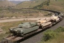Old M1 Abrams main battle tanks heading to Lima