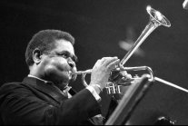 Incredible Photos Showing Dizzy Gillespie's Extraordinary Cheeks Inflating...