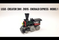 Lego - CREATOR 3IN1 - 31015 - Emerald Express - Model 1
