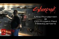 Mike Pondsmith w siedzibie CD Projekt Red