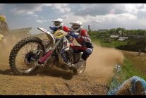 Moments with world Sidecarcross