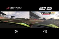 GAME vs REALITY - 24H Nürburgring Record Manthey Porsche 911 GT3 R