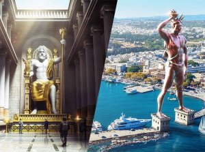 Stunning Images Of The Seven Wonders Of The Ancient World Restored In...