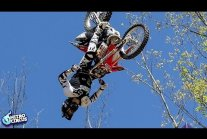 Biggest Trick In Action Sports History - Triple Backflip - Nitro Circus -...